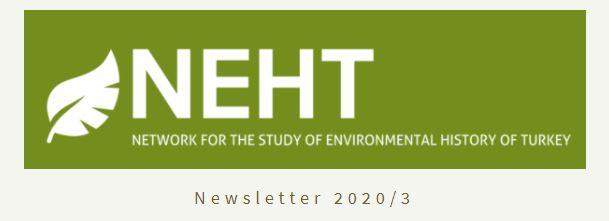 NEHT Newsletter 2020/3